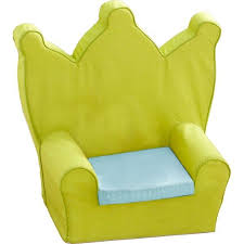 siege bebe mousse k roumanoff fauteuil couronne bébé vert bleu vert clair