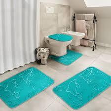 Teal Bathroom Rugs 25 Affordably Stunning Teal Bathroom Rugs To Buy