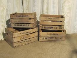 fruit boxes antiques atlas wooden fruit boxes or vegetable crates