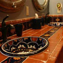 Mexican Tile Bathroom Ideas Colors 122 Best Mexico Bathroom Images On Pinterest Bathroom Ideas