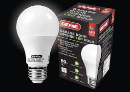 garage opener light bulb the genie company reinvents the light bulb with new led bulb for