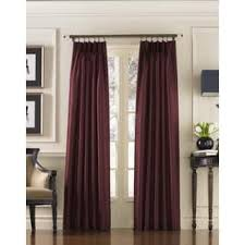 Pink Pleated Curtains Pinch Pleat Curtains U0026 Drapes Shop The Best Deals For Nov 2017
