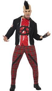 british halloween costumes 80 u0027s english punk men u0027s costume punk rock fancy dress costume