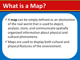 what is a map introduction to maps ppt