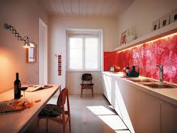 kitchen design adding the fitting mirror backsplash tiles for your
