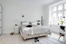 skandinavische wohnideen wohnideen schlafzimmer skandinavischer stil weiße wände pflanzen