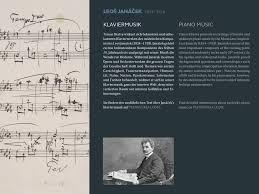quotes about music on piano leoš janáček piano music