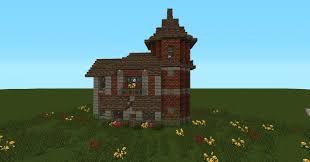 minecraft small brick house design house interior