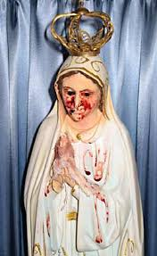imágenes religiosas que lloran sangre qué produce que las esculturas de vírgenes religiosas lloren sangre