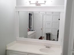 borders for bathroom mirrors
