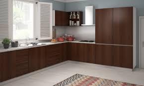 brown and white kitchen cabinets kitchen minimalist kitchen design with l shaped white kitchen