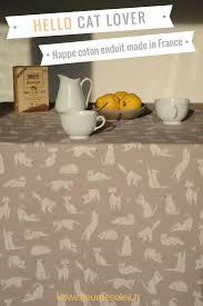 nappe ronde tissu enduit más de 25 ideas increíbles sobre nappes anti taches en pinterest