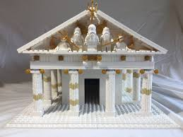 lego ideas greek temple of poseidon
