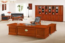 Presidential Desks Office Table Furniture High End Wooden Presidential Desk Hy D7632