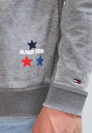 cost effective hilfiger denim grey men sweatshirt sweatshirt