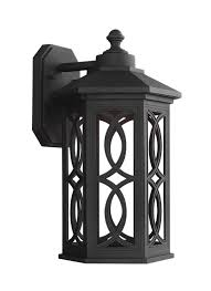 Outdoor Sconce Lighting by 8617091s 12 Large Led Outdoor Wall Lantern Black