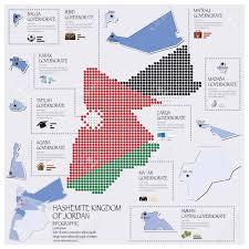 Hong Kong Flag Map Dot And Flag Map Of Jordan Infographic Design Template Royalty