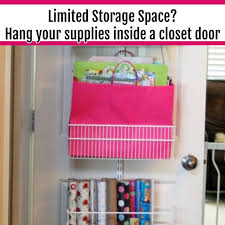 storing wrapping paper clever ways to organize wrapping paper and gift wrapping supplies