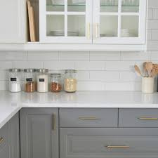Installing A Subway Tile Backsplash In Our Kitchen The Sweetest Digs - Subway tile backsplashes