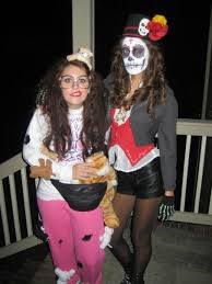 clever costumes for couples easy and cheap costumes from halloweens past a small