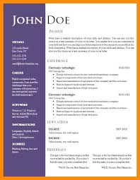 word 2007 resume template lovinglyy us