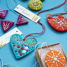 oven bake clay treasured ornaments how to it all