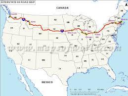 map us hwy interstate 90 i 90 map seattle washington to boston