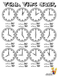 ideas about printable clock worksheets for kindergarten easy