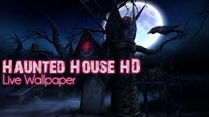 spooky screensaver haunted house hd live wallpaper cementary add on pack youtube