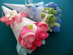 new price washcloth rosebud bouquet baby shower gift