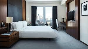 luxury king bedroom hotel suite with kitchen nyc langham place