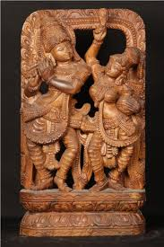 wood carvings poompuhar