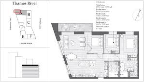 Embassy Floor Plan by 3 Bed Flat For Sale In Embassy Gardens 5 New Union Square Nine
