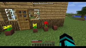 how to make a flower pot in minecraft flowers