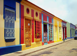 colorful building free images architecture street sidewalk town building