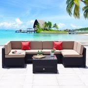 Wicker Sectional Patio Furniture by Wicker Outdoor Sectional