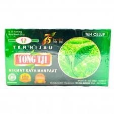 Teh Hijau teh hijau celup 50 gram tong tji green tea bags 25 ct 2 gr