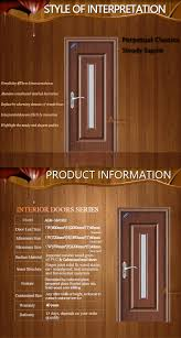 Interior Doors Frosted Glass Inserts by Pvc Steel Door Glass Insert Wood Interior Door Buy Glass Insert