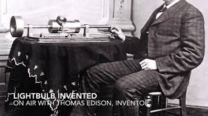 thomas edison invents the lightbulb youtube