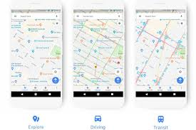 Yahoo Maps Street View Google Maps U0027 New Look Adapts To How You Travel