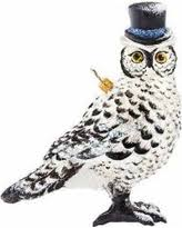 sales on chenille fur owl ornament