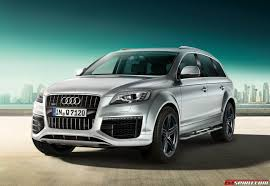 Audi Q7 2014 - official 2014 audi q7 s line style edition and sport edition