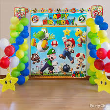 Olympic Games Decorations Super Mario Party Ideas Party City