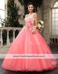 sweet pink color flower lace colourful wedding dress
