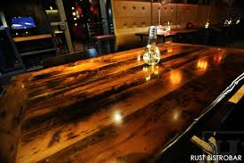 reclaimed wood restaurant table tops restaurant tables 4 blog