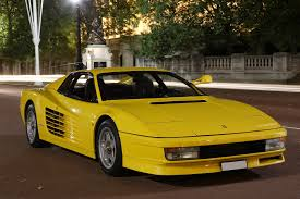 ferrari front png rare ferrari testarossa to be auctioned