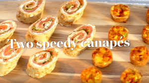 canapes ideas two speedy canapé recipes ready in 30 minutes