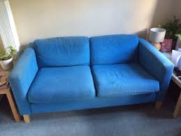 Karlstad Sofa And Chaise Lounge by Two Seater Blue Karlstad Sofa Ikea In Croydon London Gumtree