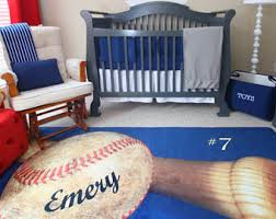 baseball nursery etsy