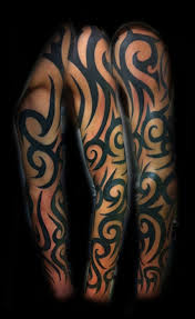 mens tribal sleeves half sleeve christian beautiful back